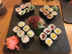 Sushi off course