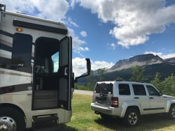 Great Views and Location for Glacier NP