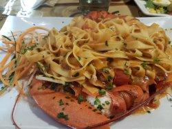 Sehr gutes italienisches Essen in etwas versteckter Lage