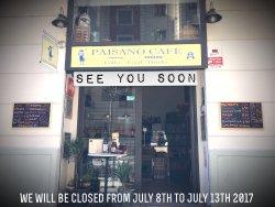 Paisano Cafe