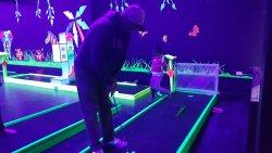 Glow golf