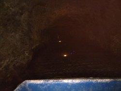 Podziemny splyw lodzią w Kopalni Zlota