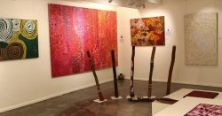 Boomerang Art - Aboriginal Art Gallery
