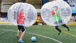 ‪Bubble Football Colombia‬