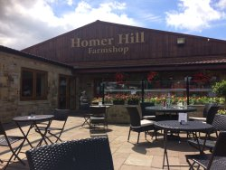Haswells Homer Hill Farm Shop - coffee shop