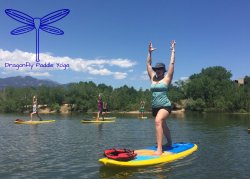 Dragonfly Paddle Yoga