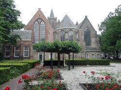the back side, seen from the church garden