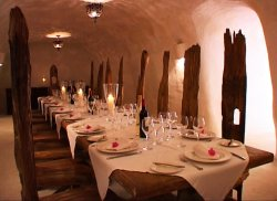 Private Dining Experience At The Cave Bar
