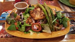 Salmon Asparagus Salad $17