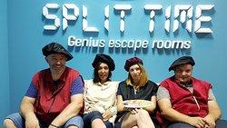 Split Time- Genius escape room