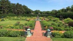 View from Treillage garden by ketan deshpande of minnesota