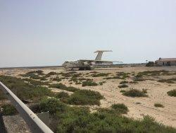 Abandoned IL-76 Airplane, Umm Al Quwain Airfield.