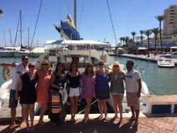 Lagoon 380 Catamaran Chartered Day Tours