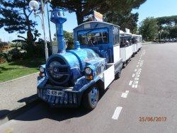 Petit train touristique de Royan