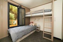 Chambre enfant d'un Lodge Kabane