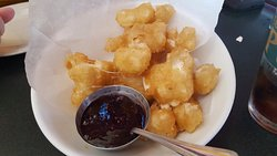 Cheese curds are awesome!