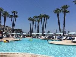 Lackluster resort in great location.