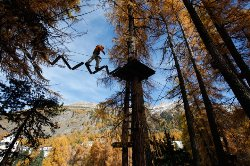 Ropes Course Pontresina