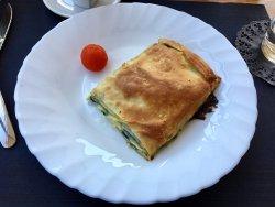 Good spinach pie breakfast