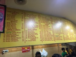 Great Experience of different Dosa