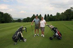 Couples golf.