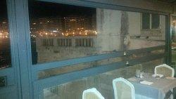 North looing balcony
