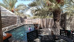 The private pool in the rooms was exquisite