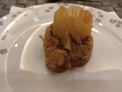 Grecki deser w restauracji głownej