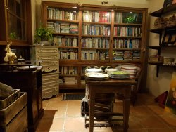 Le coin brocante bibliothèque