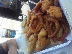 Saltwater seafood