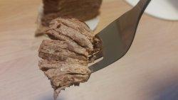 Chocolate mille crépe