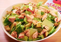 Smoked Salmon Caesar Salad - served with authentic, housemade Caesar dressing