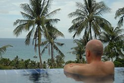 View from you pool.