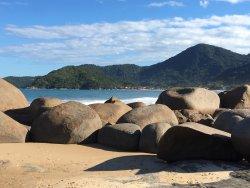 Andar pelas pedras é uma meditação
