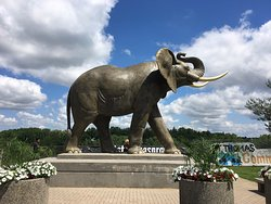Jumbo The Elephant Monument