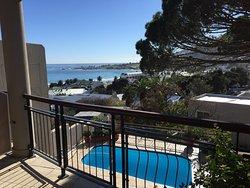 Tolles Guesthouse mit super Lage und Ausblick auf den Tafelberg und das Meer
