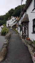 Lynmouth's architecture.