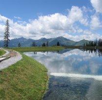 Barfußweg am Spiegelsee Fulseck
