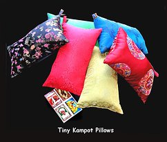 Tiny Kampot Pillows