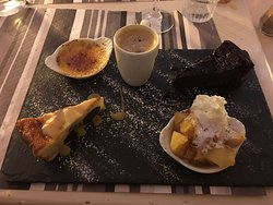 Cafe Gourmand. Excellant!