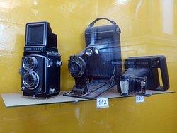 ANTIGUAS CAMARAS FOTOGRAFICAS / MUSEO DE LA FE