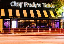 ‪Chef Fredy's Table‬