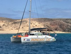 Papagayo Catamaran