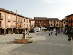 Plaza Mayor de Ayllón