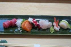 assortiment sashimi menu