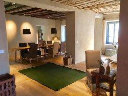 Living room y comedor del Hotel