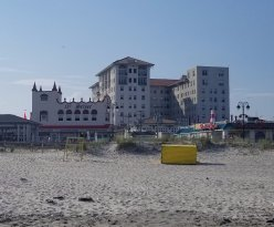 View from the Ocean City Beach