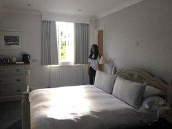 Nice rooms Beautiful garden Great beach