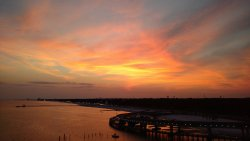 Sunset in Biloxi