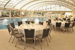 special event round the pool .